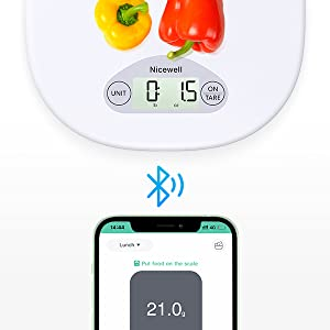 digital cooking scale