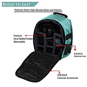 DSLR Shoulder Camera Bag Shoulder Backpack Case for Canon Nikon Sigma Olympus Camera Bag