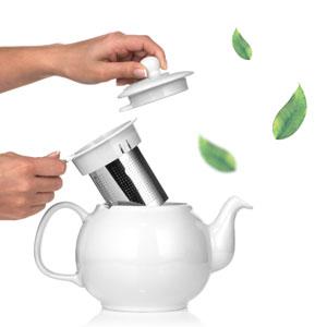 Saki Samovar tea maker kettle electric water kettle with Porcelain tea pot