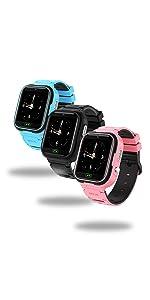 Kinder Smart Watch, Geburtstagsgeschenk, Kamera Spiele Alarme MP3 Mp4 4GB