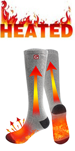 electric rechargeable battery heated sock warm winter heating socks cold weather thermal foot warmer
