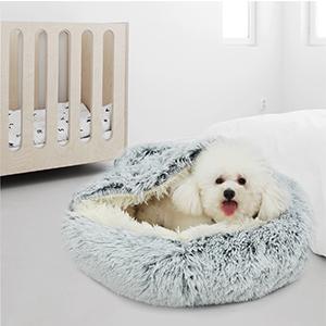 Orthopedic Dog Bed Comfortable Donut Cuddler Round Dog Bed Ultra Soft Washable Dog and Cat Cushion