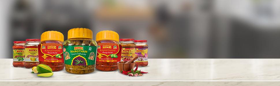 Rajasthani pickles