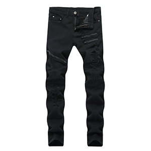 mens skinny jeans black ripped