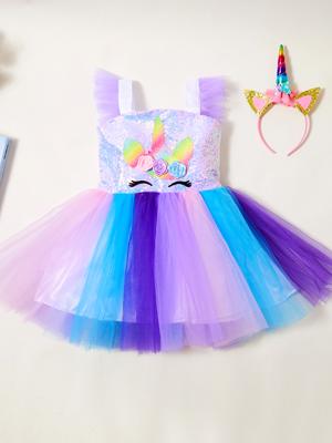 Sequin Unicorn Dress