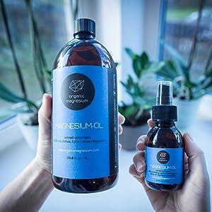 Gel de magnesio Zechstein de magnesio orgánico, 150 ml, 100 % natural y puro, perfecto para deportes y relajación muscular, gel líquido ultra puro y ...