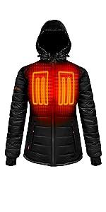 5V Insulated Heated Jacket