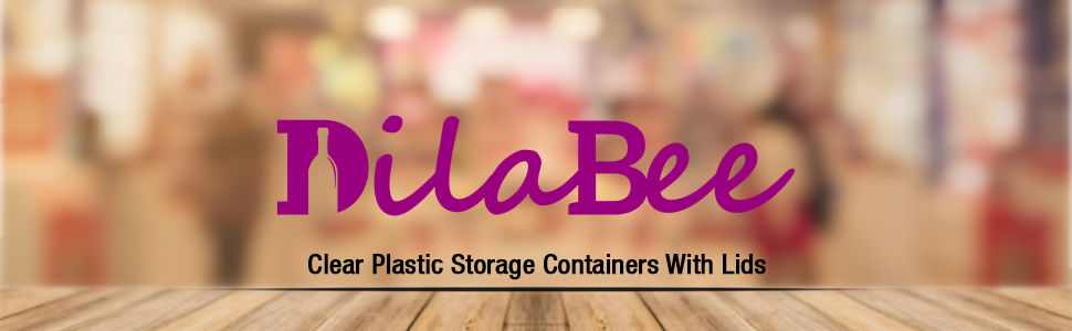 Clear Storage Containers with Lids