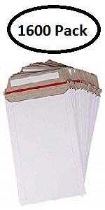 stay flat mailer kraft Kraft White shipping envelope
