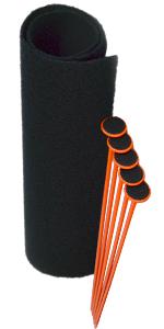5-Gun Rifle Rods Kit