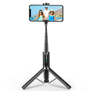 all in one bluetooth selfie stick tripod with remote