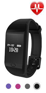 fitness tracker watch activity tracker smart watch for women men kids