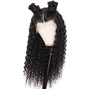 13x6 lace front deep wave wig