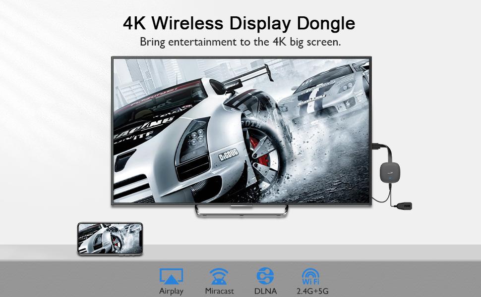 4K Wireless Display Dongle