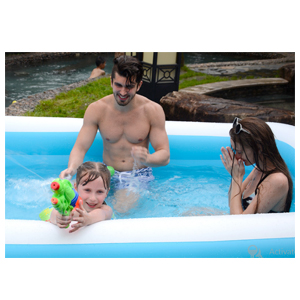 Cho-Cho Inflatable(SPA)   Bath Tub for Kids & Adults  ( 6.5Ft ) with Pump