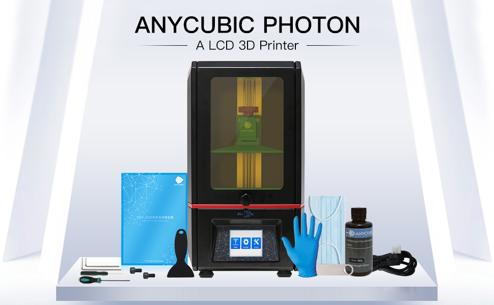 ANYCUBIC Photon UV LCD 3D Printer Assembled Innovation with 2 8'' Smart  Touch Color Screen Off-line Print 4 53