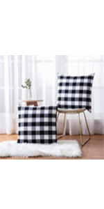 buffalo plaid pillow cover