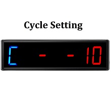 workout crossfit cycle round gym timer