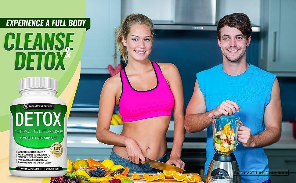 detox cleanse toplux supplement  liver