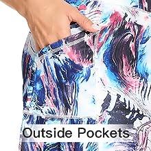 outside pocket