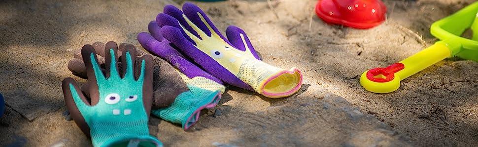 COOLJOB Working Gloves for Kids