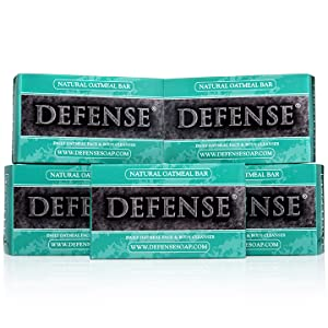 Defense Soap Oatmeal 4 Ounce Bar