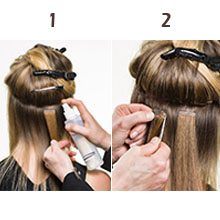 how to remove tape hair extensions
