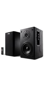Frisby Audio FS-2000BT Bookshelf Speaker System with Bluetooth
