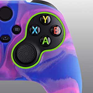 controller grip for xbox series x s silicone skins controller thumb grips caps for xbox series s x