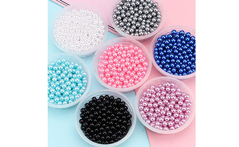 NO Hole Pearl Beads
