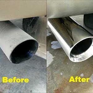 Sisal Roue de Polissage Tampon de polissage pour acier inoxydable outil en métal 2Pcs 2 in environ 5.08 cm