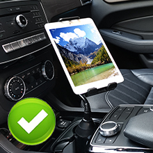 auto cup phone holder