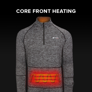 core front heating abdomen front