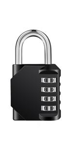4 digit combination locker padlock for gym lock school locker locks code padlocks for lockers