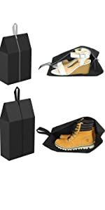 4 Pack Travel Shoe Bags