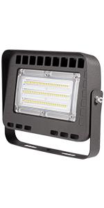 LED Flood Light with Trunnion