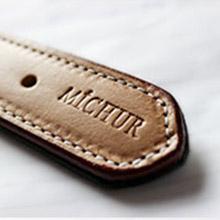 collier simili cuir chasseur de chien collier de cuir en cuir pour chien collet de chien en cuir de