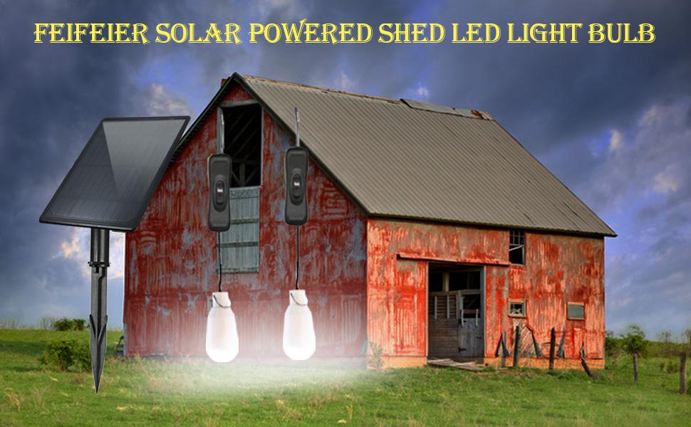 Solar Power LED Bulb