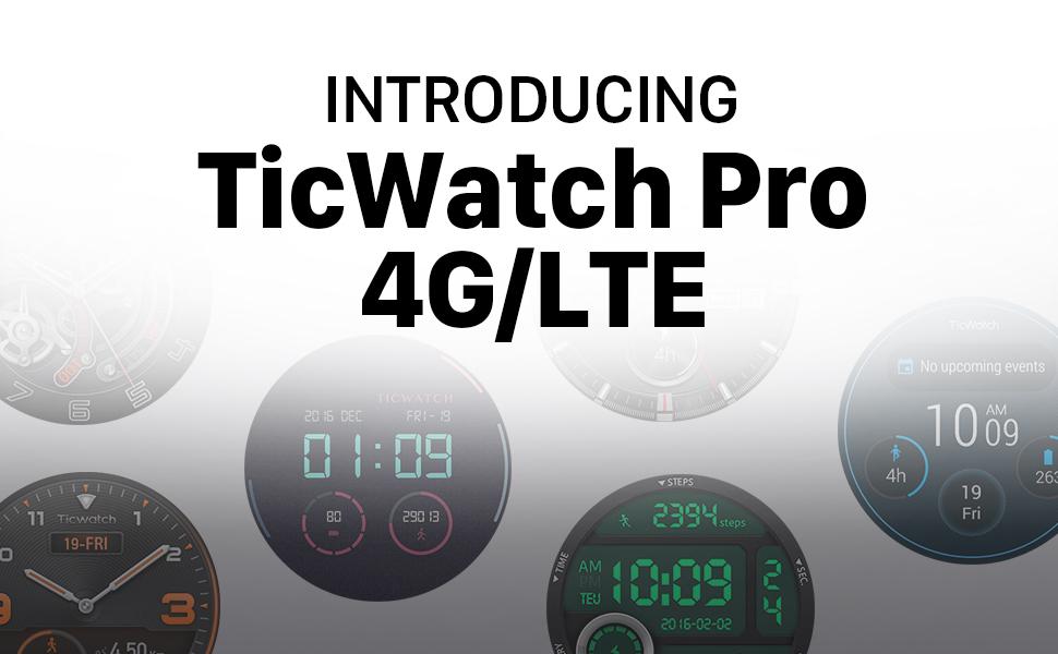 mobvoi ticwatch pro 4g smartwatch