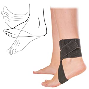 the daytime splint for plantar fasciitis leaves your heel free for a wide range of motion