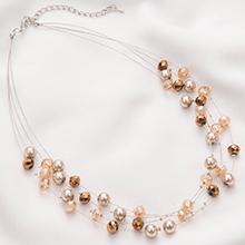 pearl strander necklace