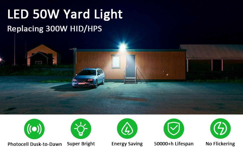 50w LED Barn Light 2