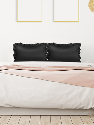 satin pillow cases