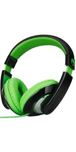 over ear headphones, on ear headphones