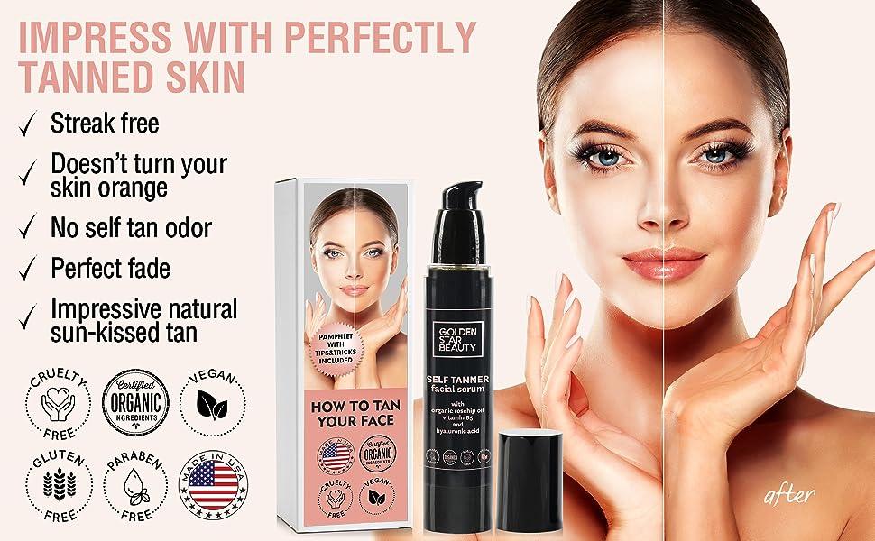 face tanner self tanner sunless tanner best sellers