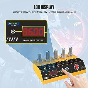 Spark Plug Tester Adjustable Ignition System Coil Tester Coil-on Plug Ignition Spark Circuit Tester