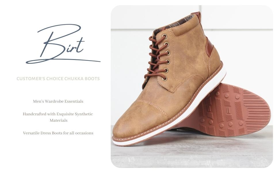 BIRT, leather chukka, mens chukka, sneaker chukka, dressy sneaker, chukka boots