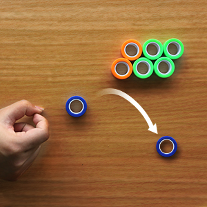 Relieve stress ,greatly fit for fidgety hands