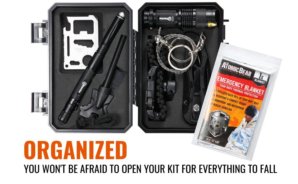 Survival Kit emergency kit atomic bear