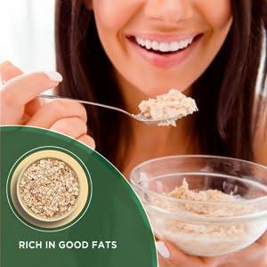 Oateo Oats Flour, Fibre & Protein-Rich, Whole Grain Oats Aata SPN-FOR1